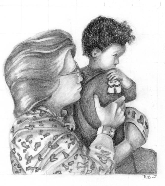 family - drawing - tracieclaflinbryant | ello