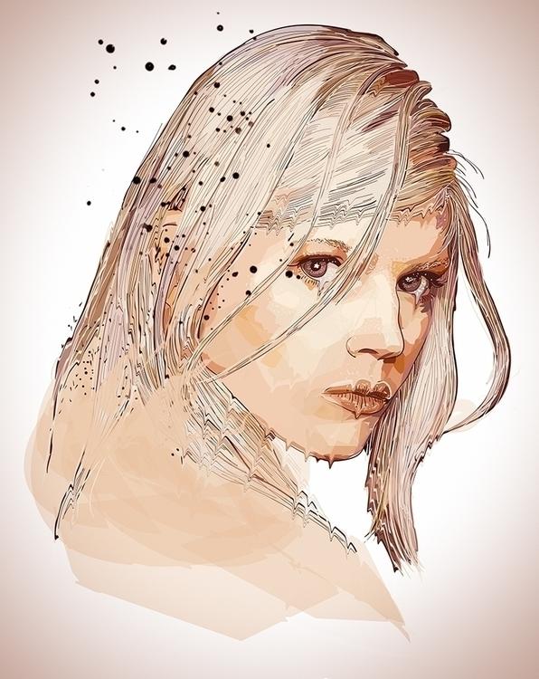 White Ghost - blonde, sad, lonely - roxycolor | ello