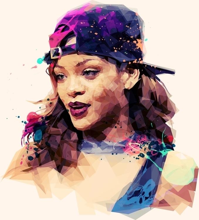 Rihanna - rihanna, popstar, famous - roxycolor | ello