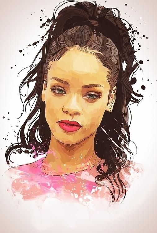 Rihanna - rihanna, popstar, famousfaces - roxycolor | ello