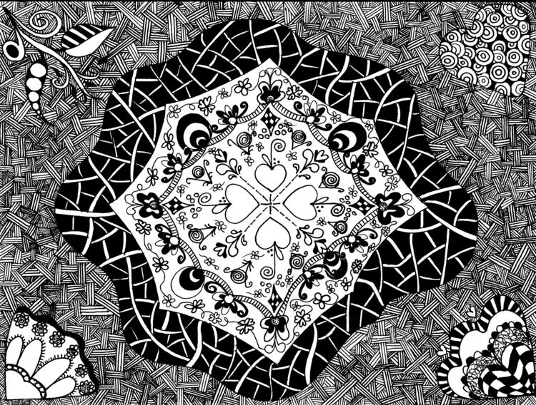 Zen 2 - illustration - tracieclaflinbryant | ello
