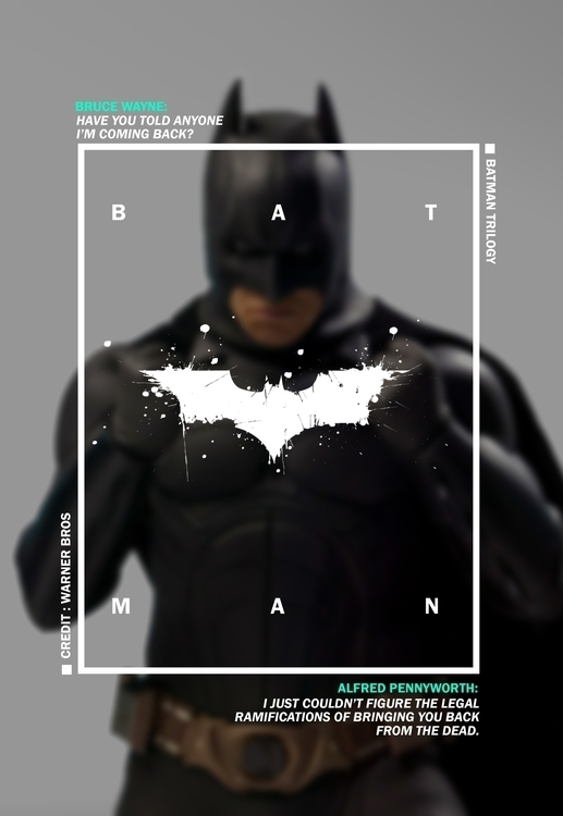 Batman Trilogy Poster - #DigitalArt - tushar-9434 | ello
