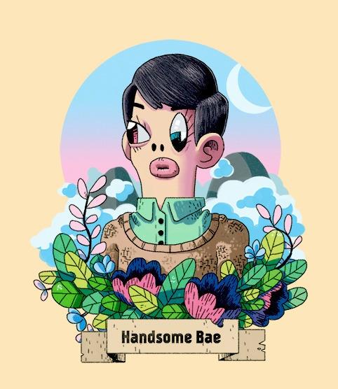 Handsome bae - handsome, babe, plants - indiana_jonas | ello