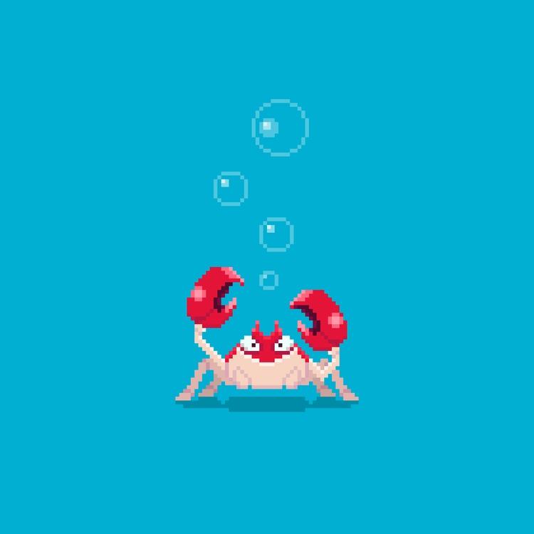 Day 23/365  - crab - planckpixels   ello