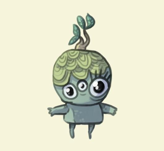 clement - moss, stone, creature - indiana_jonas | ello