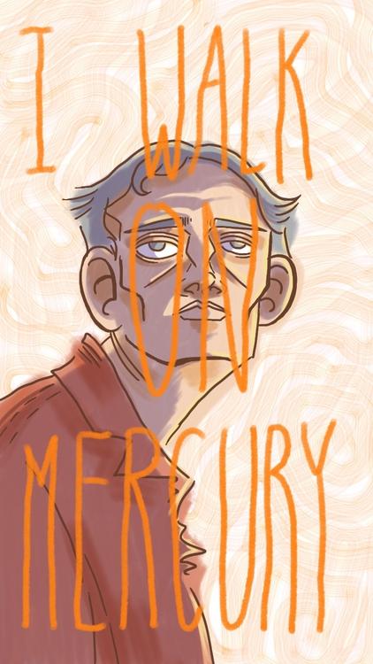 feel good walking Mercury. heat - thisjustine | ello