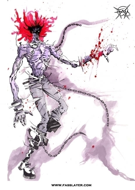 Zombie monster , watercolor ill - fasslayer | ello