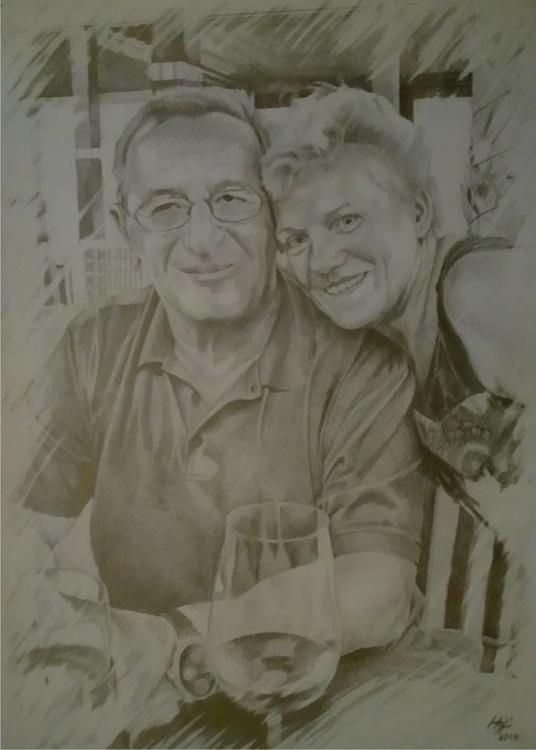 portrait, pencil - drawing, trip - spiritfc | ello