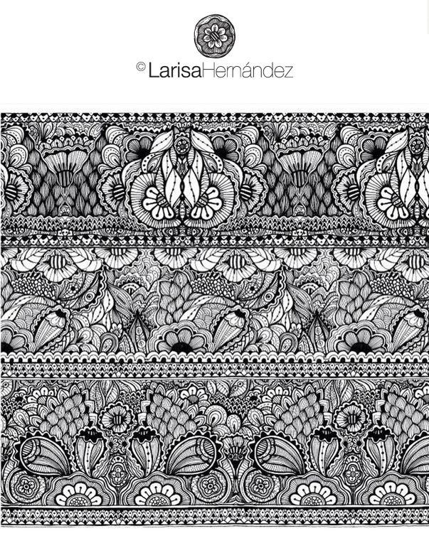 Henna pattern inspiration - zentangle - larisahernandez | ello