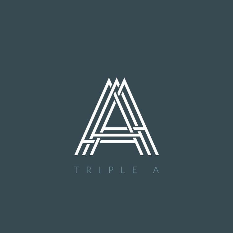 Triple - logo, icon, icons, typography - gregscale | ello