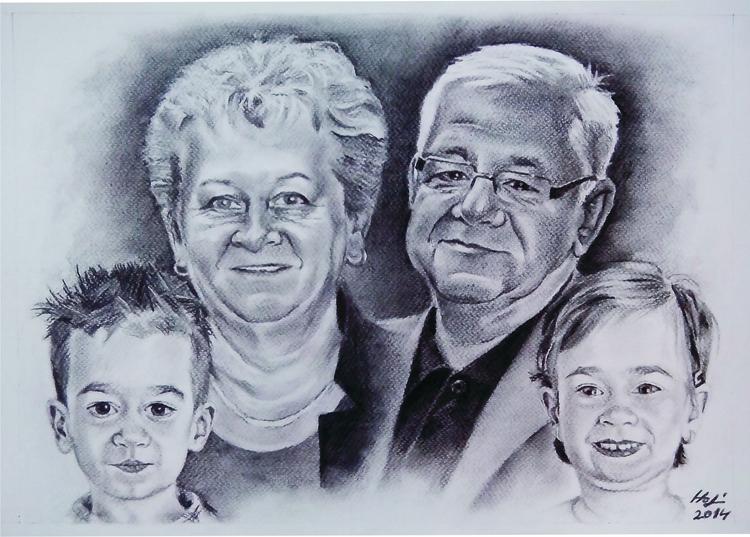 portrait, charcoal - drawing - spiritfc | ello