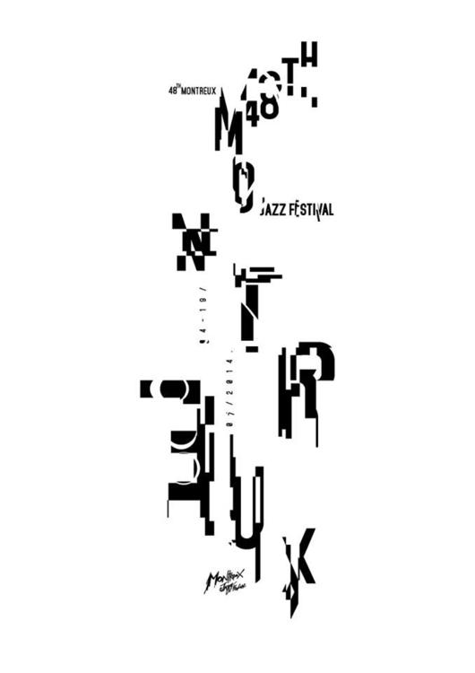 Montereux Jazz Festival - typography - jovana-1168 | ello