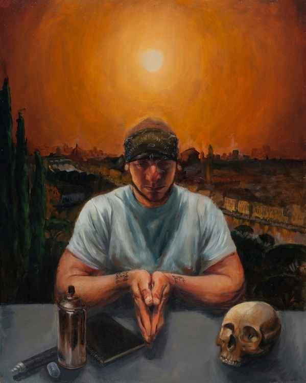 Brandon 2011, oil board - painting - anastasiyat | ello