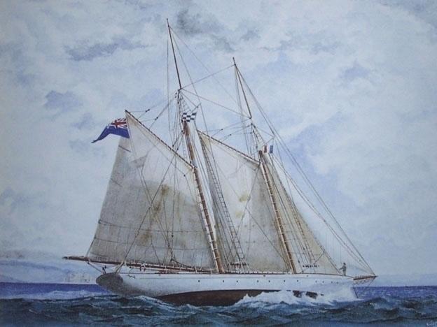 Puritan - painting, watercolor, marine - egral | ello