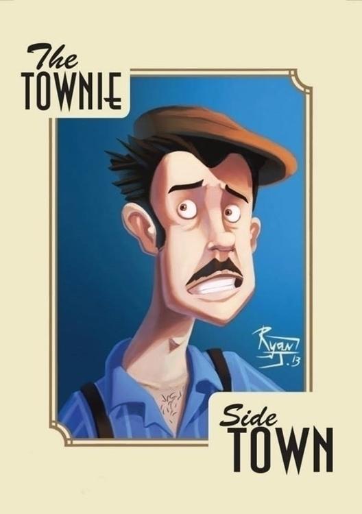 Townie - ryanjames, Illustration - ryanjames-2088 | ello