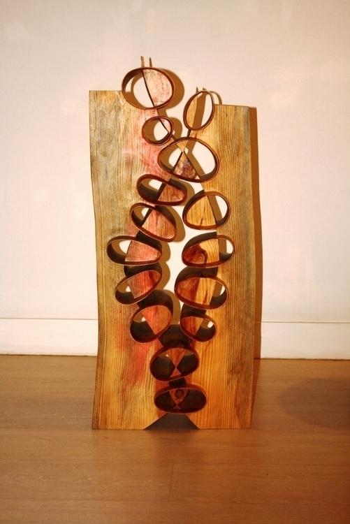 Sense titol - sculpture, wood, art - xavipuente | ello