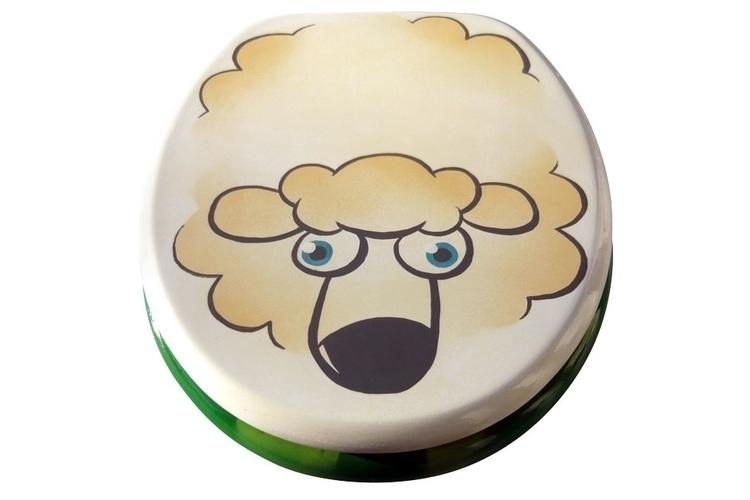 Schaaaf - sheep, toilet - jansen-1188 | ello