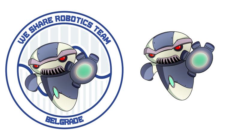Robot mascot - luka-7787 | ello