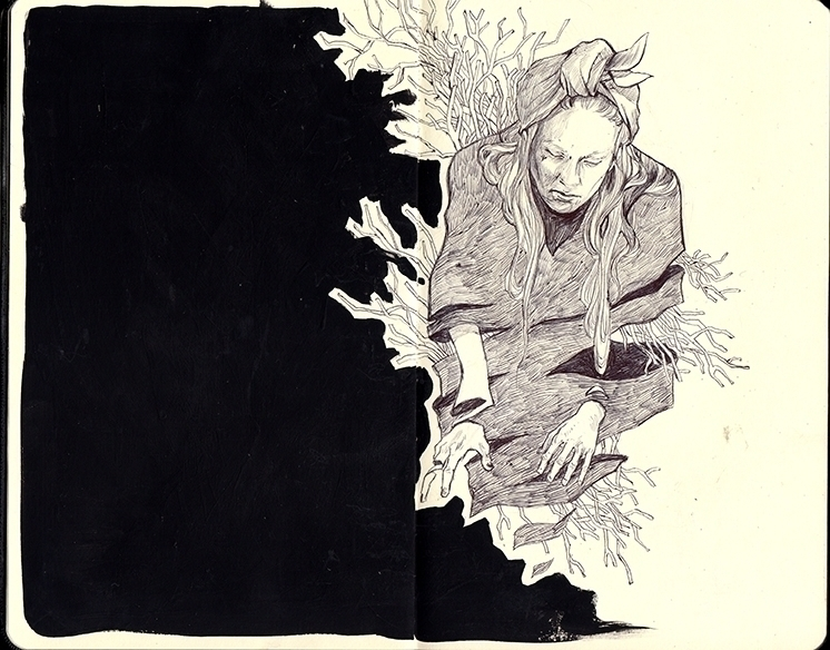 illustration, moleskine, thomkemeyer - thomke-9244 | ello