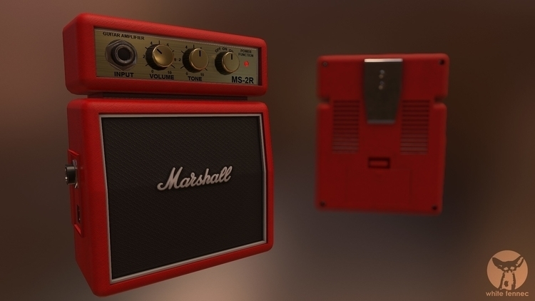Marshall MS-2R - gameart - szymonfiutak | ello