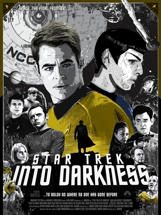 Star Trek Darkness - illustration - darrenwamboldt | ello