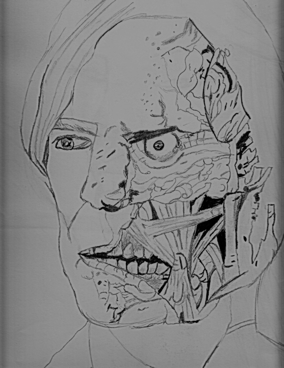 2 Face - drawing, sketches - edwatkins | ello