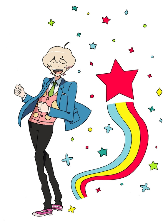Haru Tsuritama - Fanart, Rainbows - magicalseaside | ello
