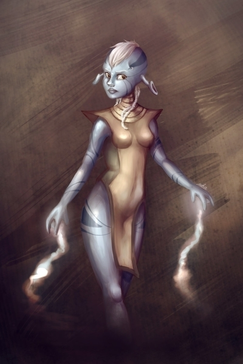 sci-fi tribe sort - illustration - ryuutsuart | ello