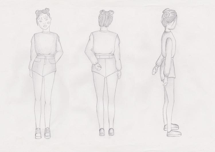Character Design, Turnaround Dr - naomimcging | ello