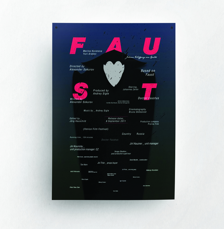 Faust | movie poster - illustration - jovana-1168 | ello