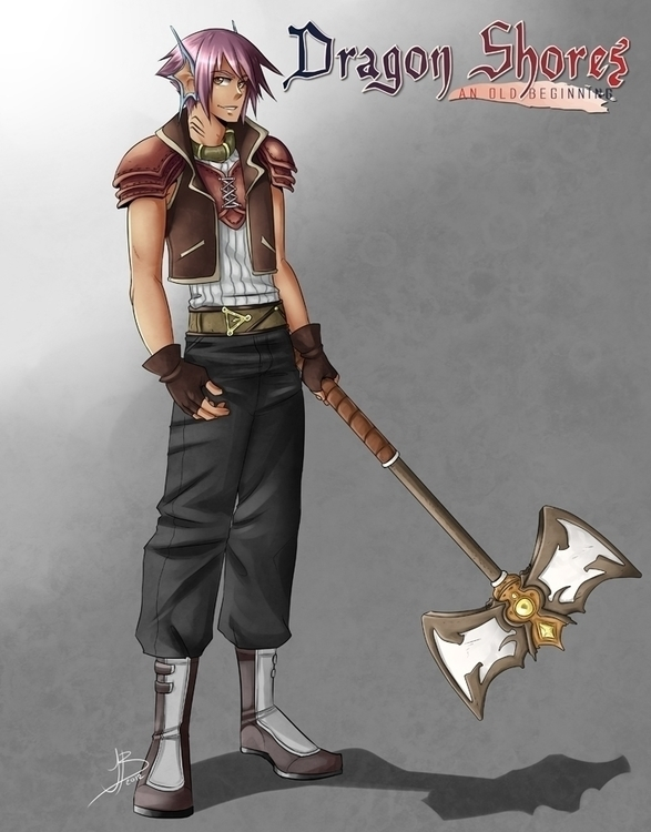 characterdesign, illustration - utybacalaito | ello