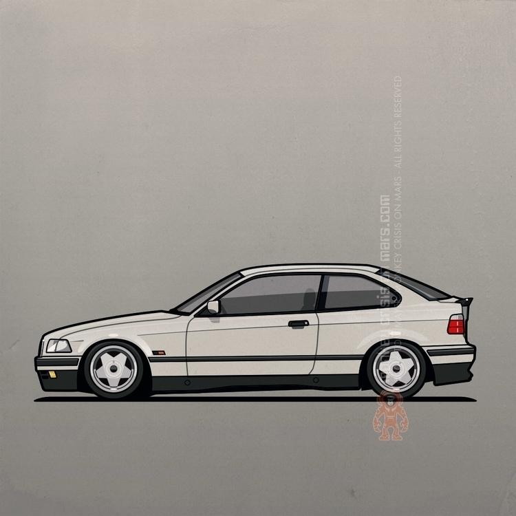 BMW 318ti E36/5 3 Series Compac - monkeycrisisonmars | ello