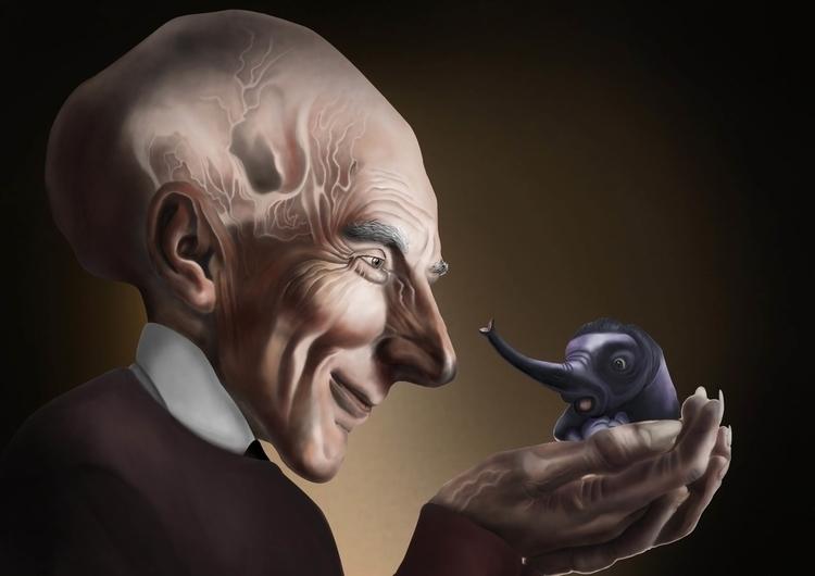 illustration, painting, characterdesign - andrew-1443 | ello