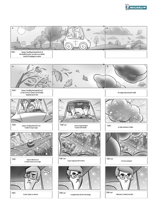 Storyboard page 1 - storyboard - lucae | ello