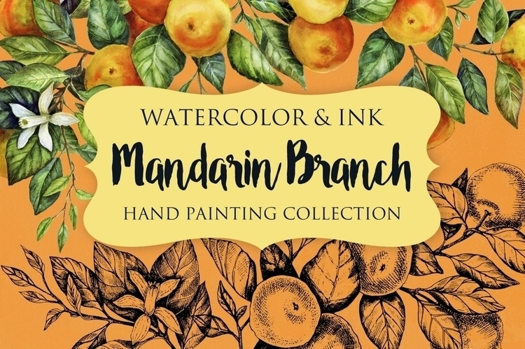 Collection watercolor ink manda - kate_vigdis | ello