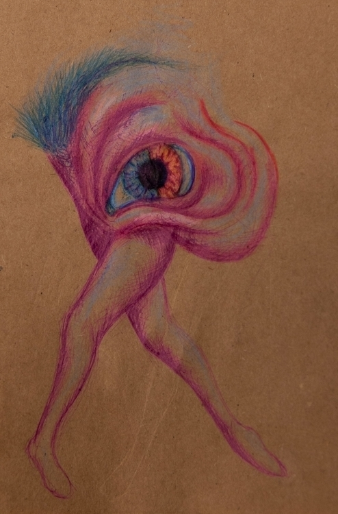 Full project - eye, pink, blue, ballet - ninevehhevenin   ello