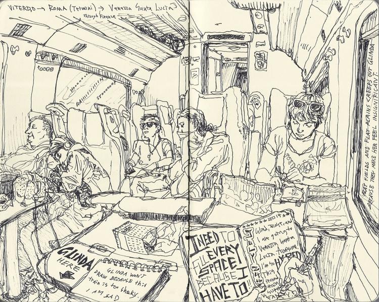 072414 Venice, Italy - sketchbook - kshin | ello