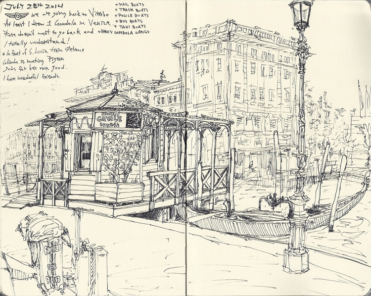 072814 Venice, Italy - sketchbook - kshin | ello