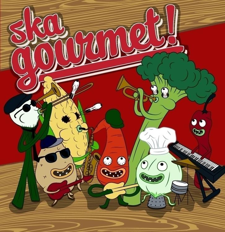 Ska Gourmet album cover - acheu | ello