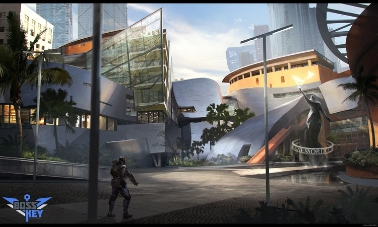 Lawbreakers - gameart, lawbreakers - minnguen | ello