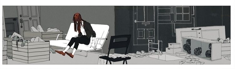 Lived_03 - illustration, grotesque - mioim   ello