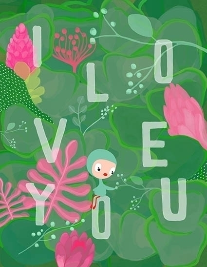 love - childrenillustration - cristinafontanaghelfi | ello