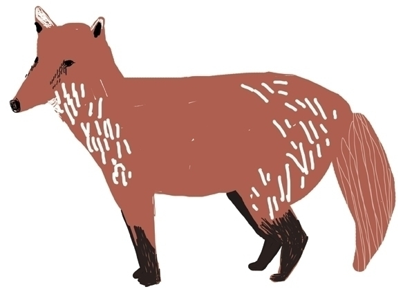 animal alphabet chart - illustration - yebin | ello