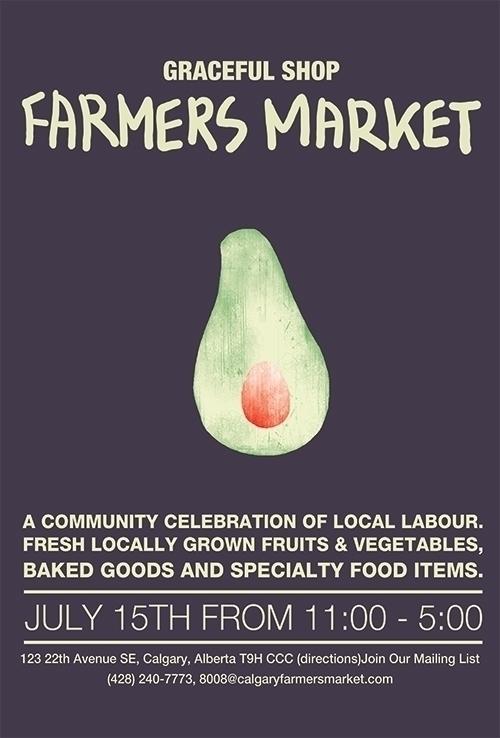 Farmers Market - illustration, painting - yebin   ello
