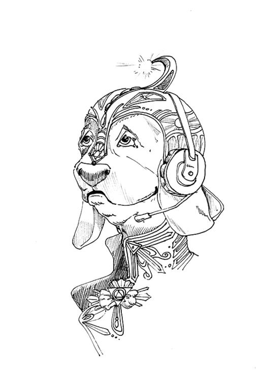 quick ink drawing Inktober 2015 - rose-1168   ello