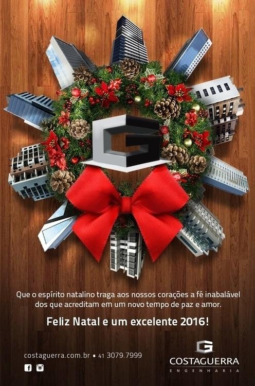 Christmas card Client: Costague - caiooliveira-1135 | ello