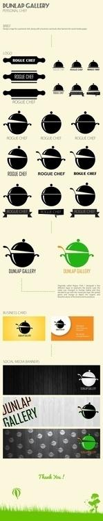 Dunlap Gallery Project - branding - artbywaldys | ello