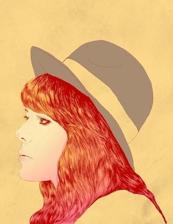 Jenny Lewis - illustration, music - jversoi_illo | ello