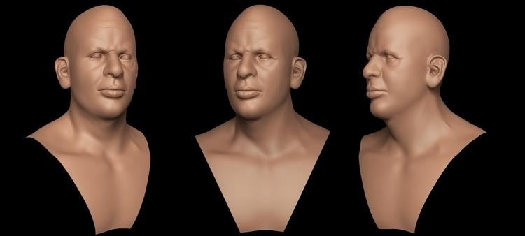 Head 01 - characterdesign, zbrush - art15 | ello