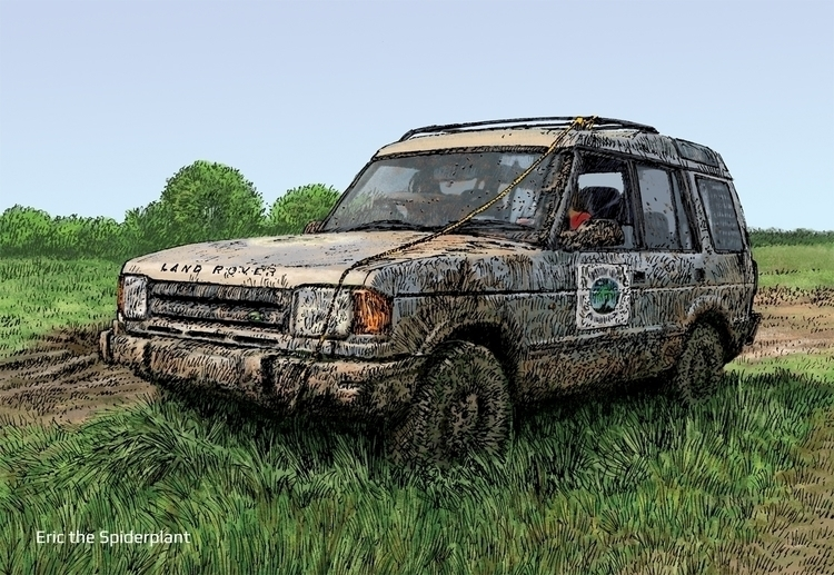 Land Rover Discovery Newark - #illustration - dannybriggs | ello